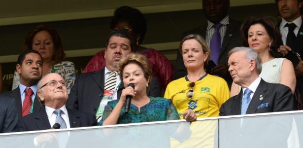 Dilma abre oficialmente a Copa das Confederações: agenda não prevê ida ao Maracanã