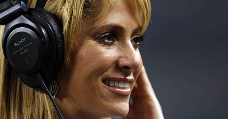 Ines Sainz é uma repórter mexicana