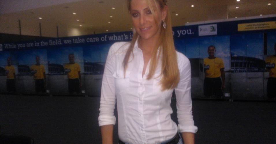 Ines Sainz, repórter mexicana, quer curtir praia e festas durante sua passagem pelo Brasil