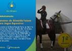 Irmãos Tavares de Almeida fazem índice para Jogos Equestres - Divulgação CBH