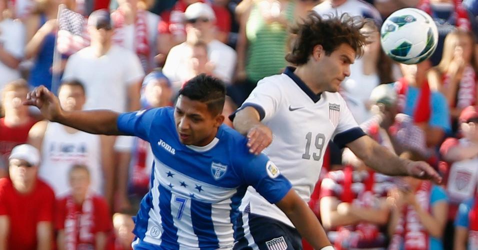 18.06.2013 - Estados Unidos e Honduras se enfrentaram pelas eliminatórias da Copa-2014; norte-americanos venceram por 1 a 0