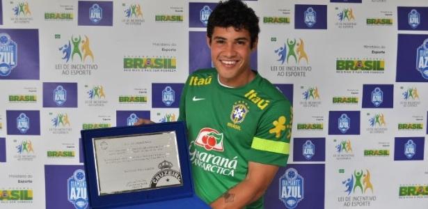 Vinícius Araújo acaba intertemporada em alta com técnico do Cruzeiro ... fb8324a222dc5