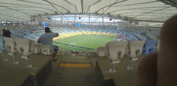 Torcedores que pagaram R$ 418 na entrada da final ficarão longe do gramado do Maracanã
