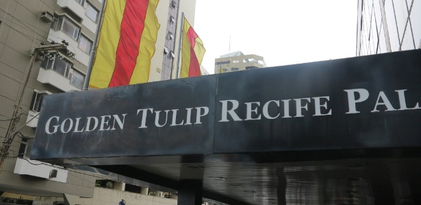 Hotel Golden Tulip hospedou seleção da Espanha durante a Copa das Confederações