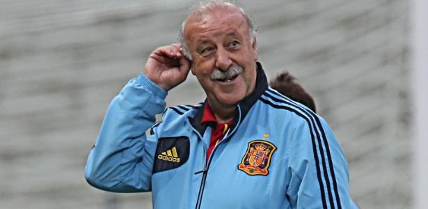 Aos 63 anos de idade, Del Bosque comanda a Espanha desde 2008