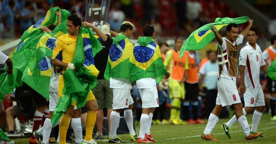 Taiti se despede do Brasil como a seleção mais carismática da Copa ... 849cf80727669