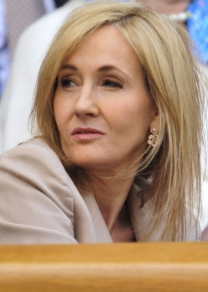 A autora J.K. Rowling - AFP PHOTO / GLYN KIRK