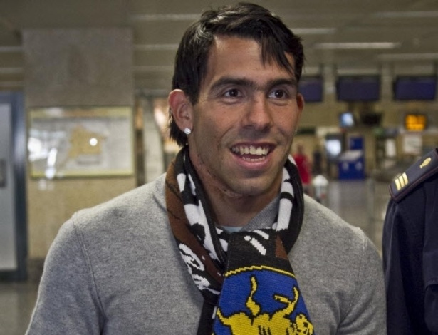 26.06.2013 - Tevez chega à Itália para se apresentar oficialmente à Juventus