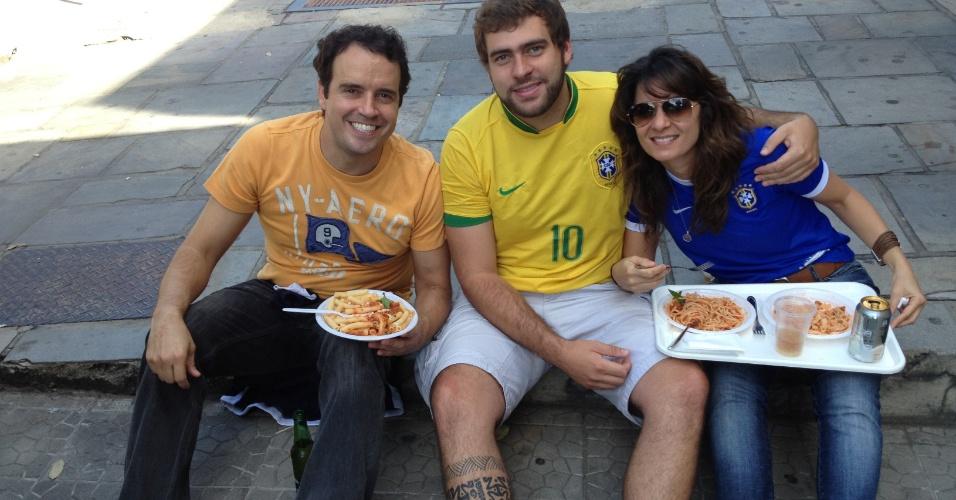 Andre Guimarães, Amanda Lopes e Gustavo Silva fora do Mineirão