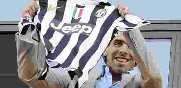 Depois de ficar sete temporadas na Inglaterra, Tevez jogará pela primeira vez na Itália - ALESSANDRO DI MARCO / EFE