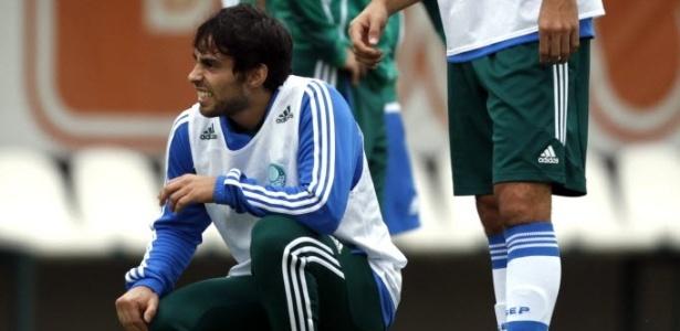 Valdivia esteve em campo nos últimos tres jogos do Palmeiras. Time venceu os três - Almeida Rocha/Folhapress
