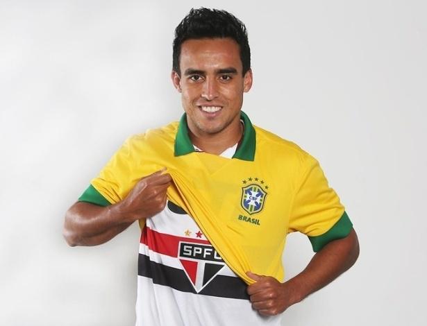 Jadson foi convocado por Felipão, mas não teve chance na seleção