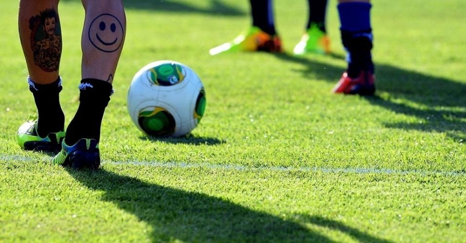 Itália treina no Barradão na véspera da disputa do 3º lugar das Confederações