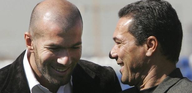 Vanderlei Luxemburgo trabalhou com Zidane no Real Madrid entre 2005 e 2006