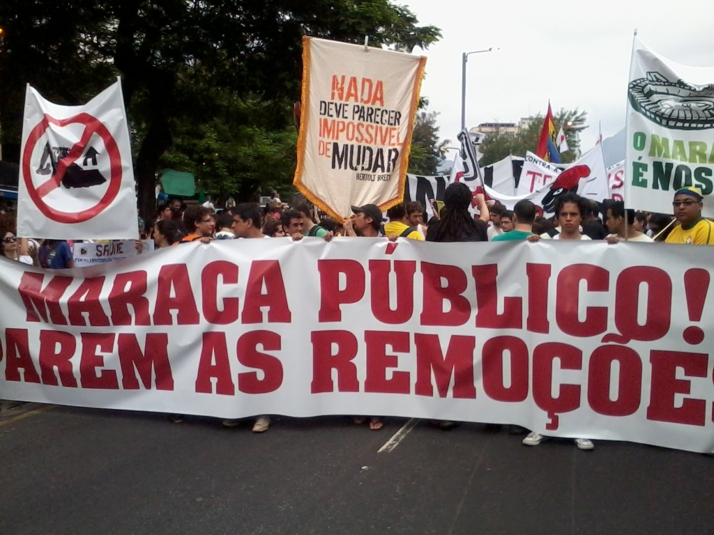 Marcha pede saída de Marin do comando da CBF e está caminho do Maracanã