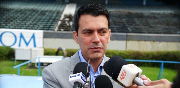 Rui Costa, diretor executivo de futebol do Grêmio, foi demitido na sexta-feira