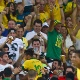 Ex-parceiro de Neymar, atacante André vibra com gol de amigo no Maracanã - AFP