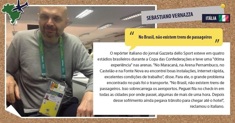 """""""No Brasil, não existem trens de passageiros"""""""