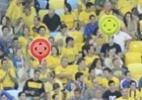 Gigafoto - Veja e compartilhe a sua foto e a de seus amigos no Maracanã na final - Reprodução