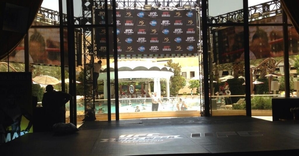 Casa noturna Xs recebe o treino aberto do UFC 162, que terá Anderson Silva x Chris Weidman