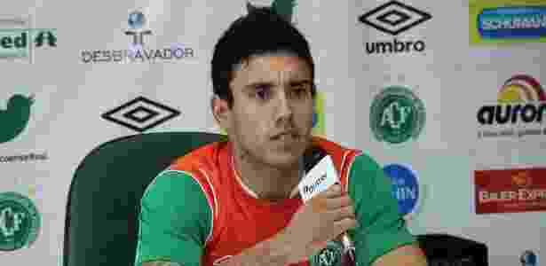 Diversos clubes brasileiros teriam demonstrado interesse no lateral esquerdo Alan   - Divulgação Aguante Comunicação/Chapecoense