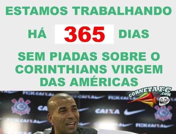 Corneta FC: Há um ano Corinthians não pode mais ser chamado de