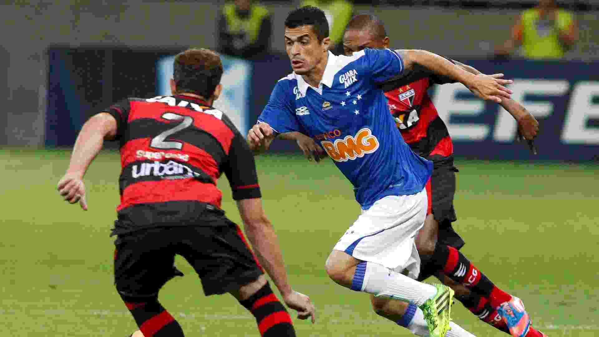 O Cruzeiro enfrenta o Atlético-GO nesta terça-feira pelo jogo de ida da terceira fase da Copa do Brasil. A equipe celeste tem 100% de aproveitamento jogando no Mineirão e deseja manter o atual retrospecto - Washington Alves/VIPCOMM