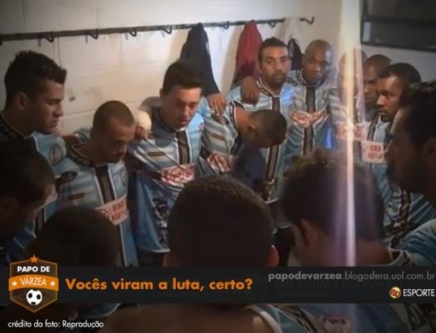Preleção da Turma do Baffô teve menção à derrota de Anderson Silva