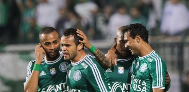 Charles, Wesley, Luis Felipe e Vinicius já marcaram para o Palmeiras na Série B - Julia Chequer/Folhapress