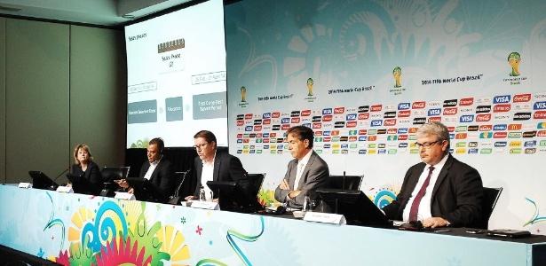 Anúncio do valor dos ingressos para a Copa-2014 foi feito em coletiva nesta sexta-feira