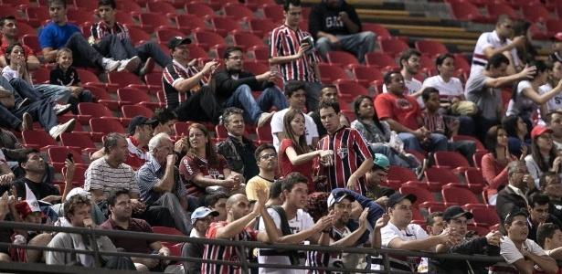 Diretoria do São Paulo espera cerca de 20 mil pessoas no Morumbi - Rodrigo Capote/UOL
