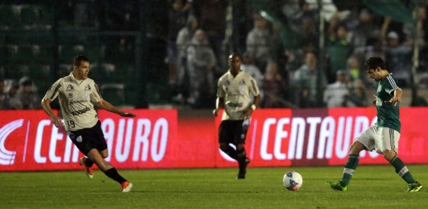 Valdivia foi poupado contra o São Caetano e volta ao time contra o Paraná - Cristiano Andujar/VIPCOMM