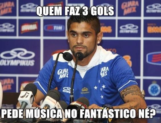 Corneta FC: Luan faz três no São Paulo e pede música no Fantástico