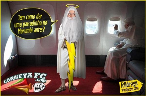 Corneta FC: São Paulo quer aproveitar a visita do papa