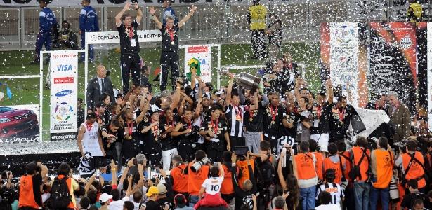 Campeão em 2013, Atlético-MG busca segundo título da Copa Libertadores  - AFP PHOTO / EVARISTO SA