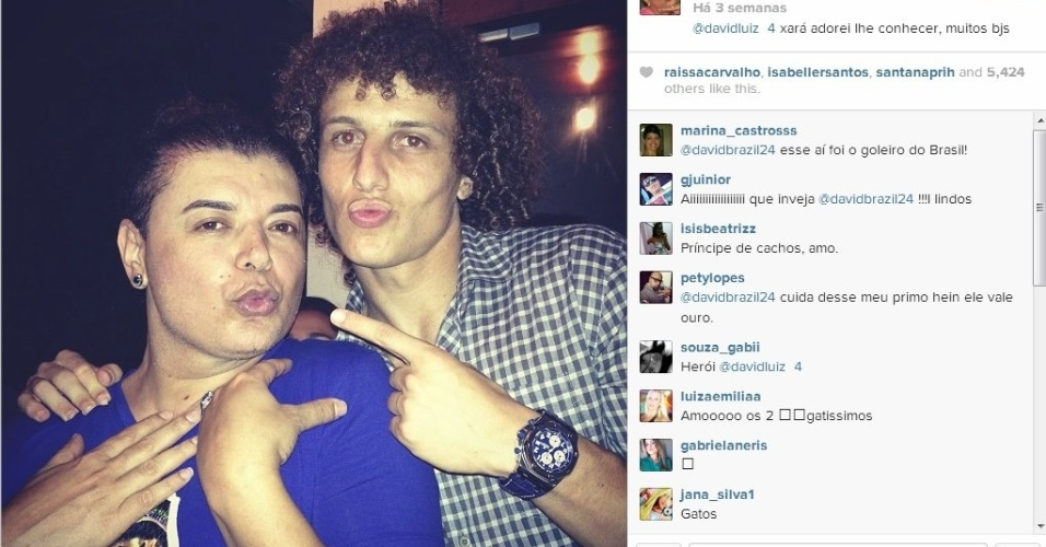 David Brazil e David Luiz