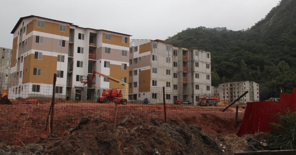 Parque Carioca é conjunto habitacional que está sendo construído na zona oeste do Rio