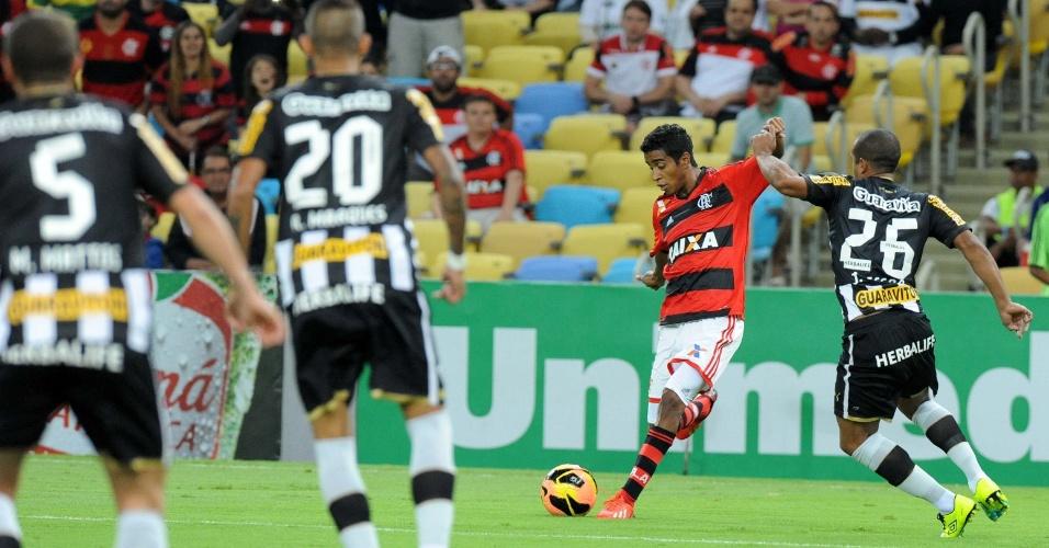 Flamengo teve problemas para superar a marcação do Botafogo