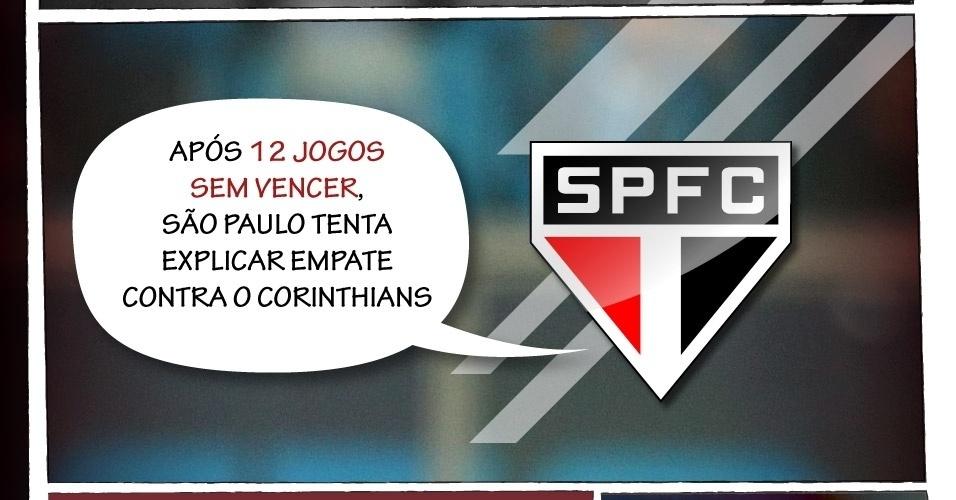 Após 12 Jogos Sem Vencer São Paulo Tenta Explicar Empate