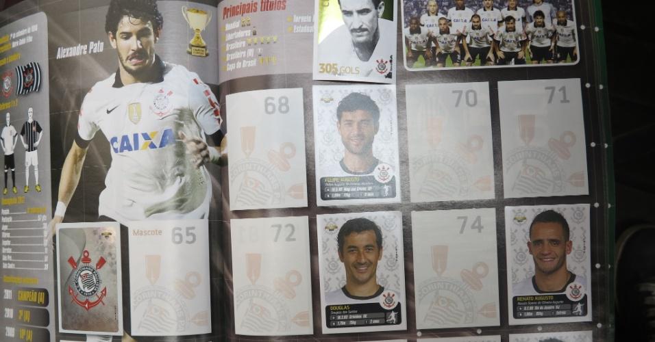 Página do Corinthians tem Alexandre Pato como destaque