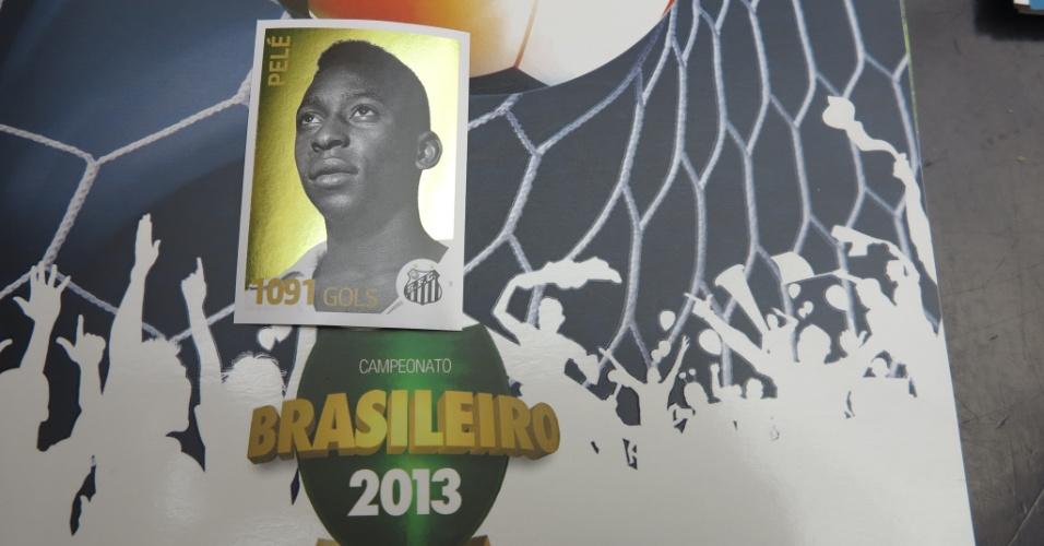 Pelé e outros artilheiros históricos do Brasileirão estão presente na edição deste ano