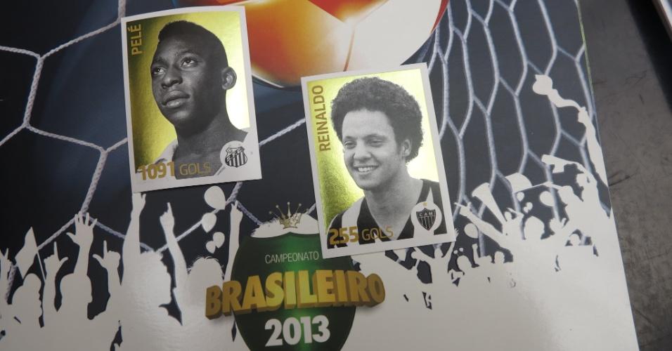 Pelé, Reinaldo e outros artilheiros históricos do Brasileirão estão presente na edição deste ano