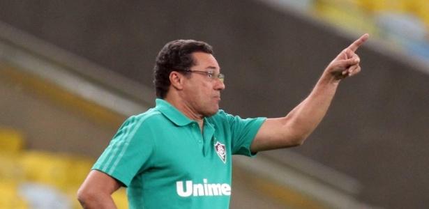 Luxemburgo disse que erros da arbitragem originaram os dois gols do Goiás na queda do Flu - Ricardo Ayres/Photocamera