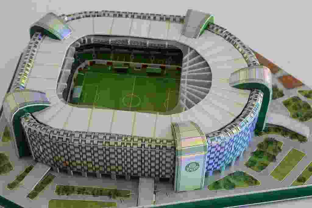 Arena Palestra é uma das atrações das vendas das miniaturas de estádio no Brasil - Reinaldo Canato/UOL