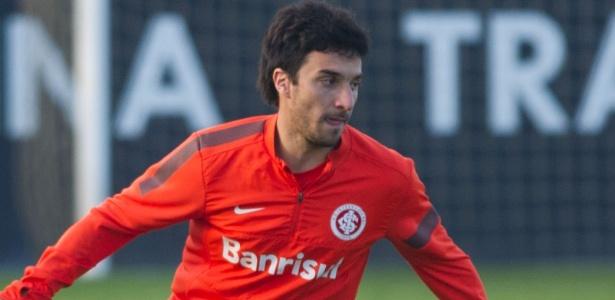 Scocco jogou 21 partidas pelo Inter, marcou quatro gols e saiu em janeiro de 2014