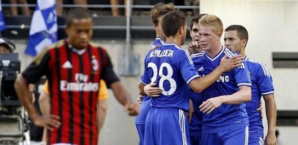 De Bruyne teve uma curta passagem pelo Chelsea