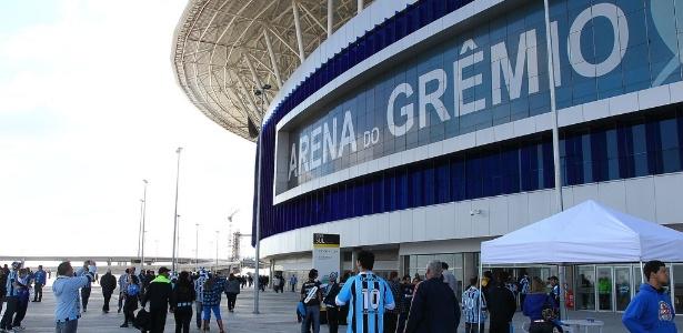 Arena do Grêmio deverá receber cerca de 40 mil torcedores nesta quarta (09)