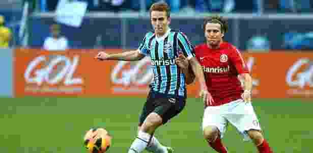 Zagueiro Bressan, do Grêmio, é o mais destacado jogador que veio do Juventude - Lucas Uebel/Divulgação/Grêmio FBPA