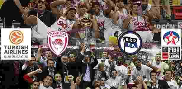 Copa Intercontinental reunirá Pinheiros e Olympiacos, campeões da Liga das Américas e da Euroliga - Divulgação/Fiba Américas
