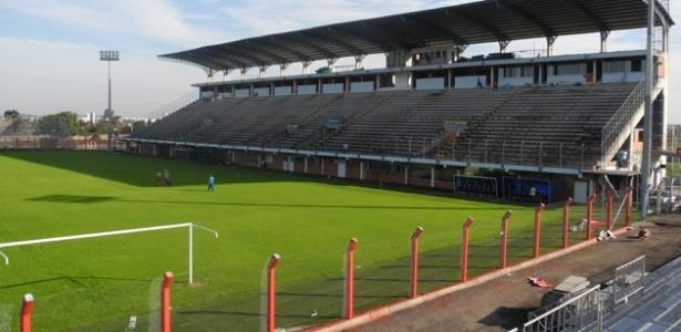 Estádio do Vale, em Novo Hamburgo, não tem capacidade para receber final
